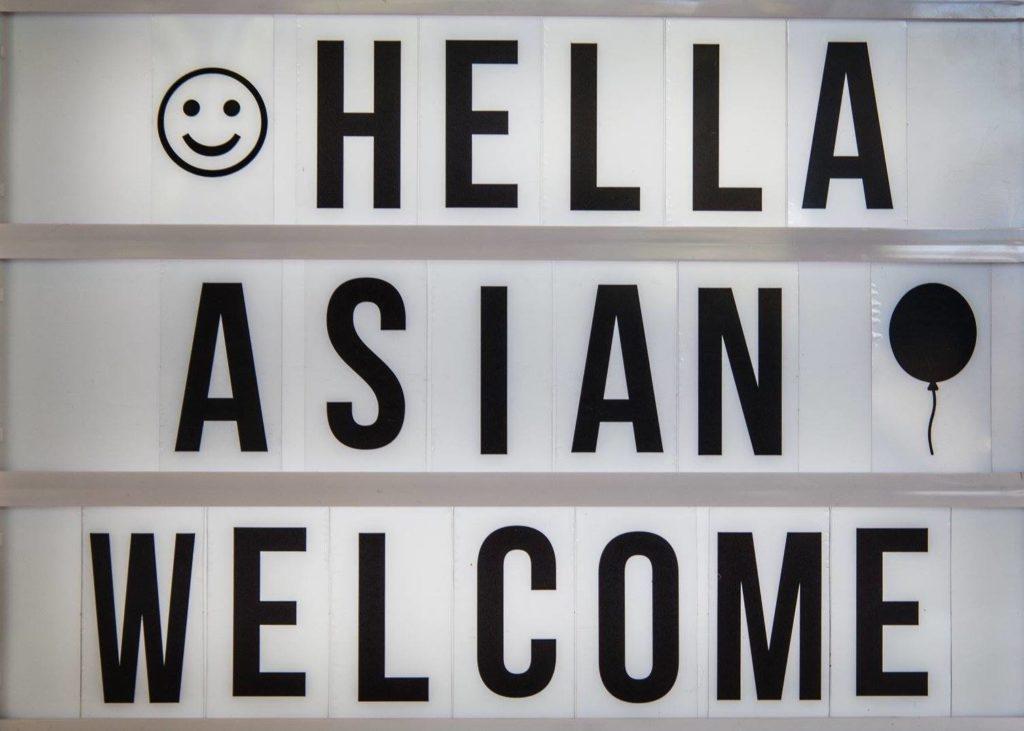 Hella Asian Welcome photo